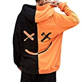 iYYVV Unisex Teens Colorblock Smiling Face