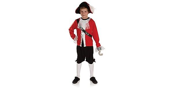 Amazon.com: Fun Shack – Disfraz de capitán garfio para niños ...
