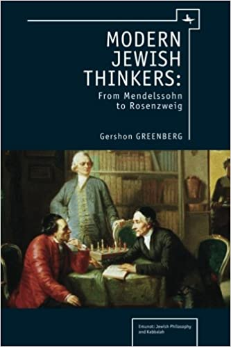 ((FB2)) Modern Jewish Thinkers: From Mendelssohn To Rosenzweig (Emunot: Jewish Philosophy And Kabbalah). electric green Systems Overview Machine encontra Cretors readers