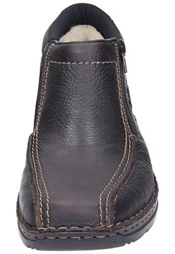 Rieker - Botas de cuero para hombre Marrón (Marrone (Braun))