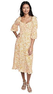 Faithfull The Brand Women's Nora Midi Dress