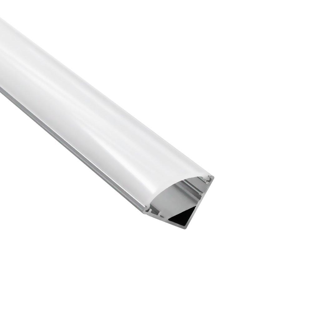 TORCHSTAR 1m/3.3ft Aluminum V-Shape Channel for