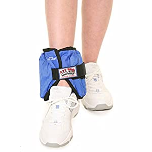 Well-Being-Matters 41DiFUkqrHL._SS300_ All Pro Weight Adjustable Ankle Weights , 10 pounds (1 single ankle weight)