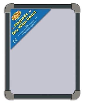 Fridge Magic - Pizarra blanca magnética (se usa con imanes) Ideal para que los niños escriban o cuelguen fotos o dibujos con imanes