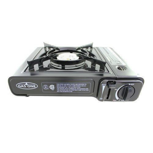 New Portable Single Burner Butane Gas Camping Stove Tabletop Stove Alumunium New (Maytag Oven Broiler Element compare prices)