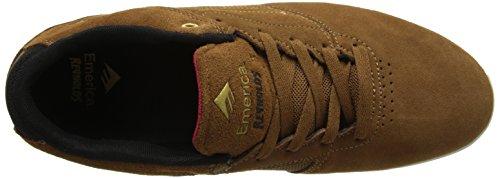 Marrone THE uomo LOW Emerica REYNOLDS Sneaker ZqpnPBww0