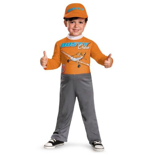 Disguise Boy's Disney's Planes Dusty Crophopper Costume, 2T - Disney Pixar Cars Costumes