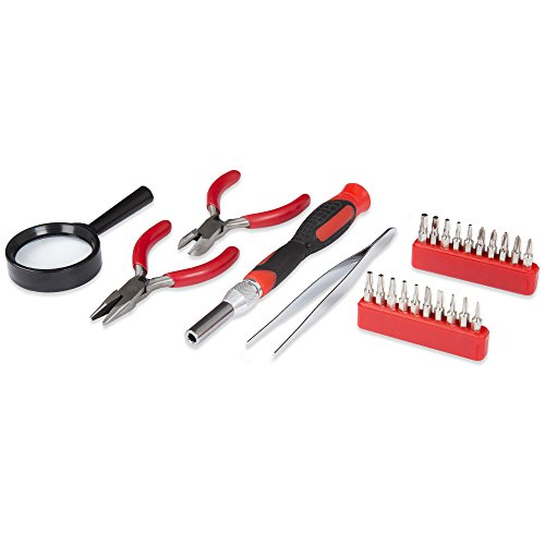 Stalwart 75-HT4025 Precision Electronics, Repair & Hobby Tool Set (25 Piece) by Stalwart (Image #3)