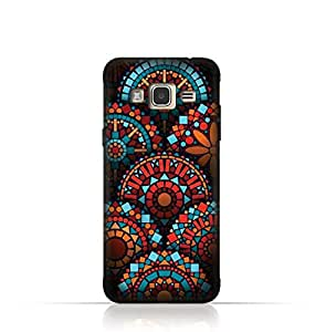 Samsung J2 Pro TPU Silicone Case With Geometrical Madalas Pattern