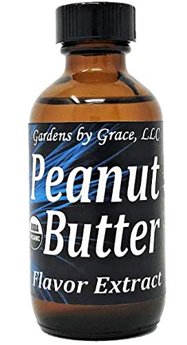 - Organic Flavor Extract Peanut Butter | Use in Gourmet Snacks, Candy, Beverages, Baking, Ice Cream, Frosting, Syrup and More | GMO-Free, Vegan, Gluten-Free, 2 oz