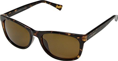 Cole Haan Unisex CH6013 Dark Tortoise One - Dark Sunglasses Tortoise