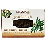 Patanjali Ojas Multani Mitti Body Cleanser, 75g (Pack of 5)