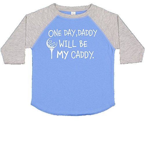 inktastic - One Day, Daddy Will be My Toddler T-Shirt 3T Blue and Heather 2c499