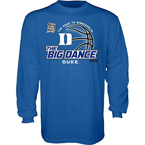 Fan Duke - Elite Fan Shop Duke Blue Devils March Madness Long Sleeve Tshirt 2019 Big Dance - XXL