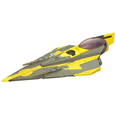 Hasbro Star Wars Clone Wars Star Fighter Vehicle - Anakins Star Fighter