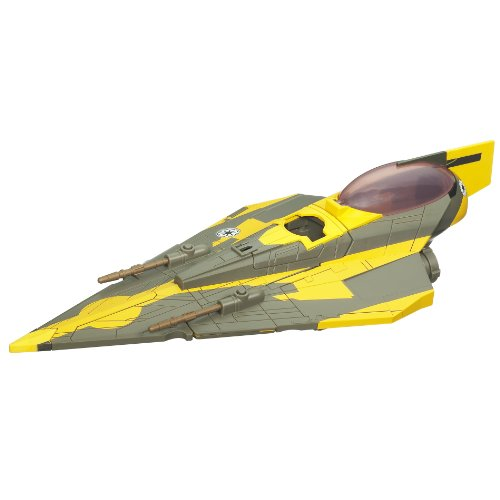 Star Wars Clone Wars Starfighter Vehicle - Anakins -