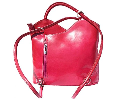Florence Leather 207, Borsa a zainetto donna rosa Pink