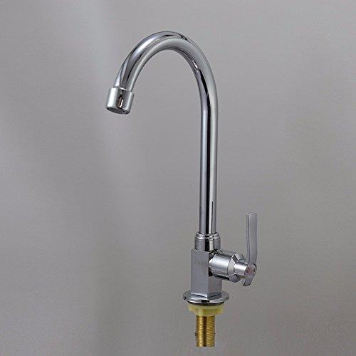 SHLONG Tap Full Copper Core Single Cold Kitchen Faucet Sink Faucet redating Faucet