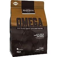 Omega Wafers de Majestad - Terapia de piel y pelaje para caballos - bolsa de 60 unidades