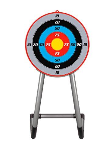 Mytoy Set de Arquero Infantil con Apuntador Láser, Flechas y Estuche - Rojo con Azul