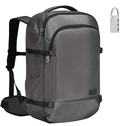 Hynes Eagle 45L Travel Backpack Carry on Backpack Weekender Bag, Grey