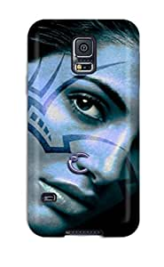 New Style CharlesRaymondBaylor Hard Case Cover For Galaxy S5- Face Tattoos by icecream design