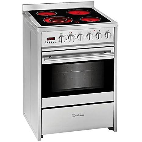 Meireles E 611 X - Cocina (Independiente, Acero inoxidable ...