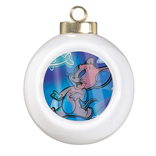F T Conty Tree Branch Decoration Jerry Trippy Fish Funny Ball Ornaments Tom Cat (Tom And Jerry Centerpiece)