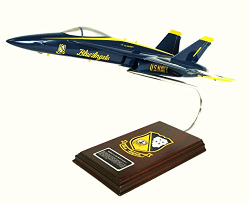 18a Hornet (Mastercraft Collection Boeing F/A-18A Hornet Blue Angels USN Model Scale:1/38)