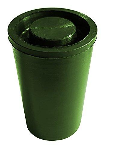 Geo de envío 20x Verdes película latas, Verde, One Size, 11205