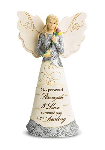 Pavilion Gift Company 82348 Strength and Healing Angel Figurine, 6-1 2-Inch