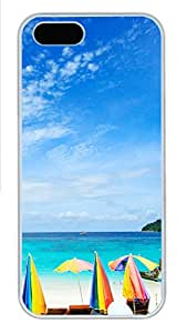 iPhone 5s Cases & Covers - Morning Sea PC Custom Soft Case Cover Protector for iPhone 5s - White