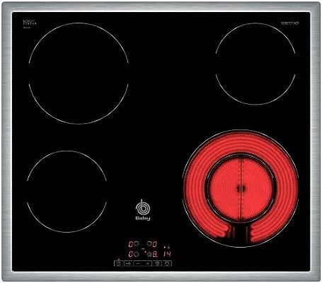 Balay 3EB721XR - Placa Vitrocerámica 3Eb721Xr Con 4 Zonas De Cocción