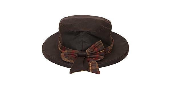 Fenside Country Clothing - Sombrero Panamá - para Mujer Marrón marrón M L   Amazon.es  Ropa y accesorios 035436c559c