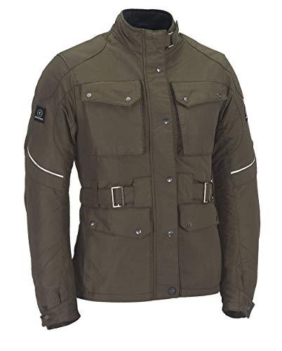 SMOOK Damen Motorradjacke Textil WALLY Farbe: Braun