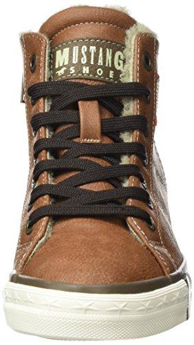 MustangHigh Top Sneaker - zapatillas deportivas altas Niños-Niñas Marrón (301 kastanie)