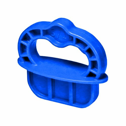 Kreg DECKSPACER-BLUE Deck Jig Spacer Rings 5/16-Inch, Blue, 12 Pack
