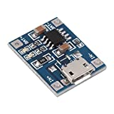 Liobaba 1A Lipo Battery Charging Board Charger Module Lithium Battery DIY Micro Port Mike USB Input Voltage 4.5V - 5.5V