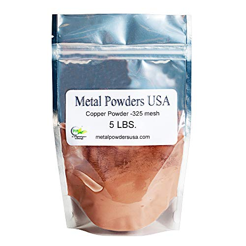 Copper Powder -325 Mesh Five Pounds (5LBS) Ships 1-3 Days Priority Mail