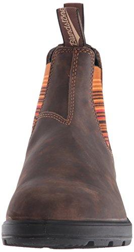 Blundstone Unisex 1348 Rustic Brown/Stripes P25nr2