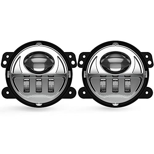 4 inch chrome driving lights - 4