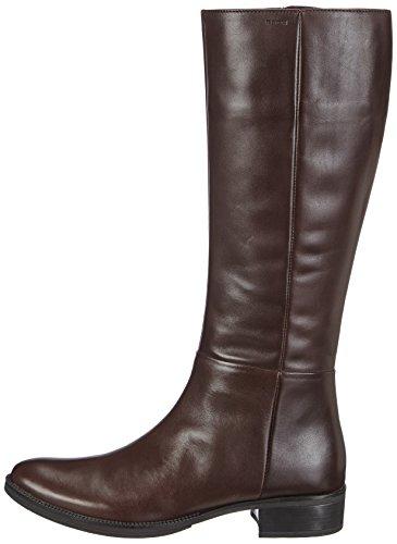 Braun coffeec6009 Geox Mendi Equitazione Q D Stivali Da Donna xvg4pwq0