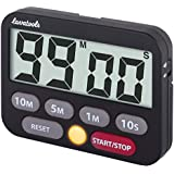 Digital Kitchen Timer with Upgrated 2 Timing...
