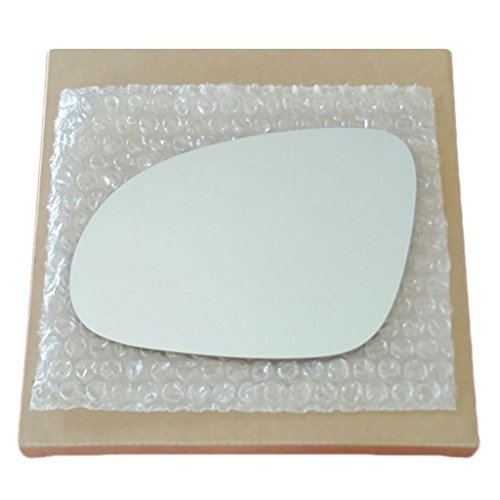 Door Left Rear Jetta (Mirror Glass And Adhesive 2006 - 2009 Jetta Passat Rabbitt Gti Eos Driver Left Side Replacement)
