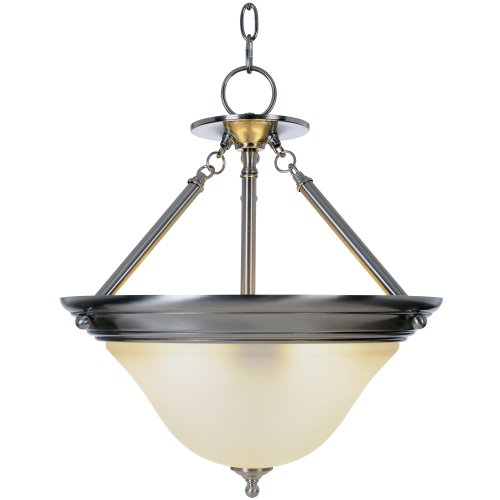 Majestic Nickel Pendant - Monument 617262 Sonoma Pendant, Brushed Nickel, 15-1/2 X 17-1/8 In.