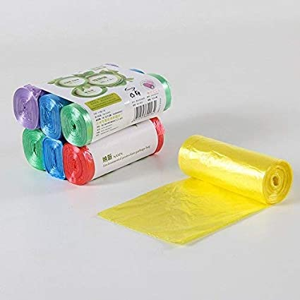 WXIN Bolsa De Plástico Color Verde Basura Doméstica ...