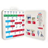 PhysiciansCare by First Aid Only Ansi / Osha Xpress First Aid Kit with Refill System, 90211, 370 Count