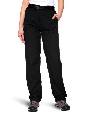 Craghoppers Classic - Pantalones de senderismo para mujer negro