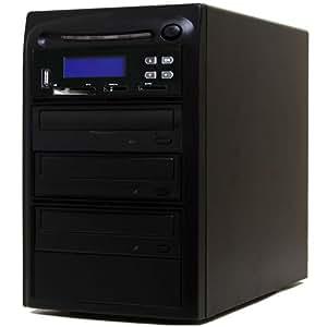 Systor 1-2 M-Disc duplicadora de CD/DVD/ USB/SD/CF en M-Disc/CD/DVD Copier Copia de seguridad Torre