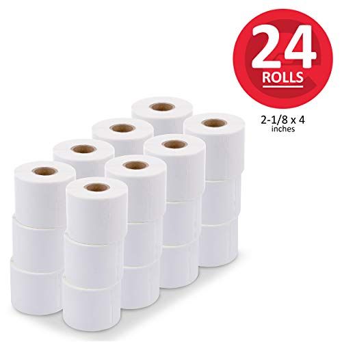 - enKo [24 Rolls, 5280 Labels] Address & Shipping Labels 30323 (2-1/8 x 4